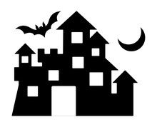 Halloween Home Silhouette