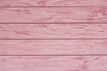 Pink Wood Plank Texture And Ba...
