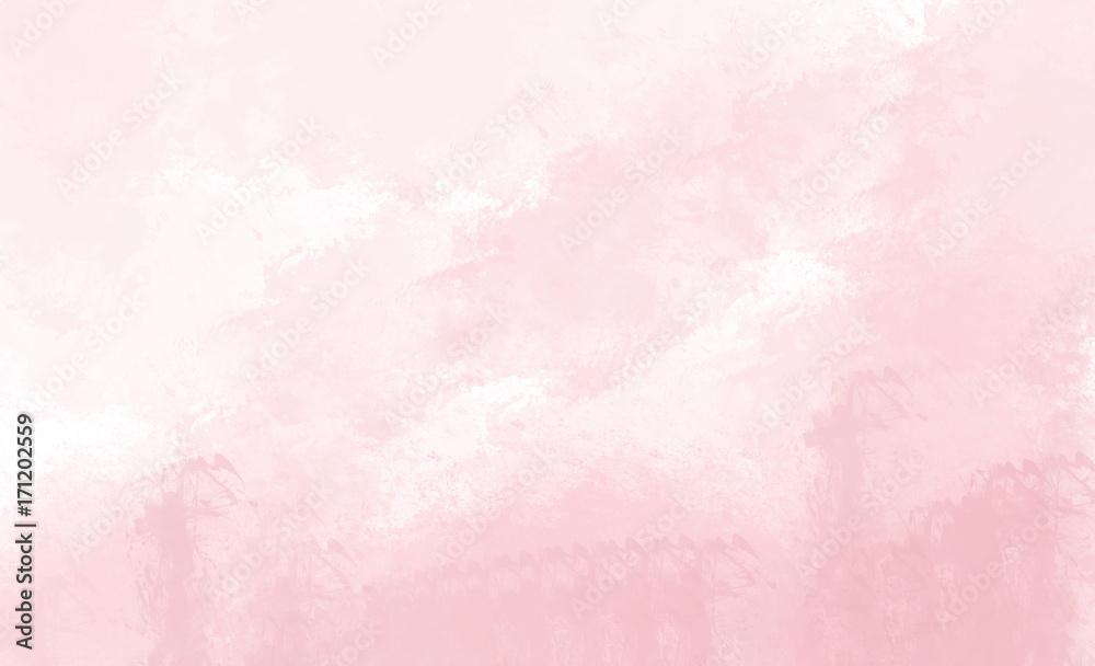 Różowy tło akwarela. Cyfrowy rysunek. <span>plik: #171202559 | autor: jenteva</span>