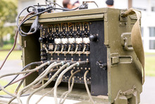 Old Military Us Army Radio Rec...