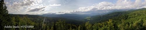 Photo Aussichtspunkt Hindenburgkanzel im Bayerischen Wald, Bavarian Forest