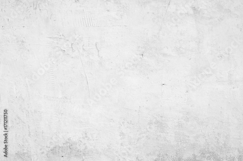 Foto op Aluminium Wand White abstract background texture concrete wall