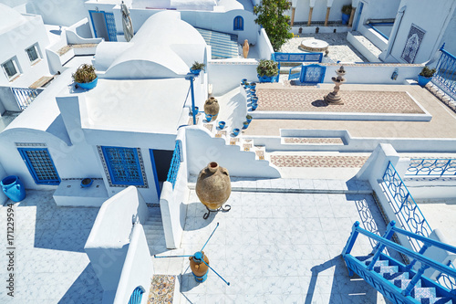 Photo sur Toile Tunisie Sidi bou Side, Tunisia