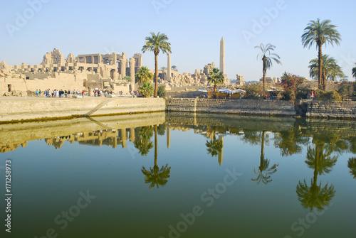 Tuinposter Egypte Karnak Temple - Luxor - Egypt