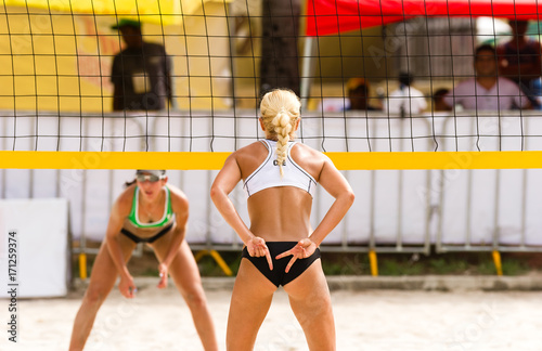 Volleyball Beach Player