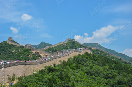 Foto op Canvas Chinese Muur Great Wall, China