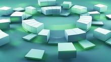 Concentric Segmented Circles A...