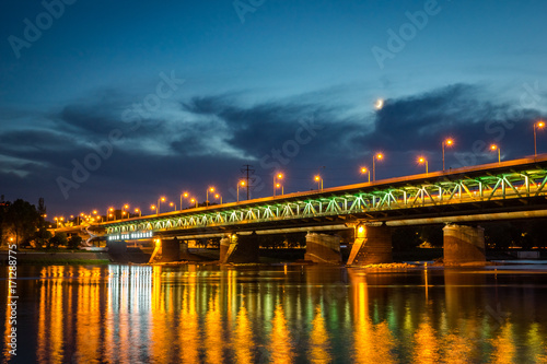 gdanski-bridge-at-night-in-warsaw