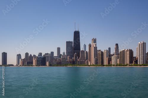 Obraz na dibondzie (fotoboard) Panoramę Chicago