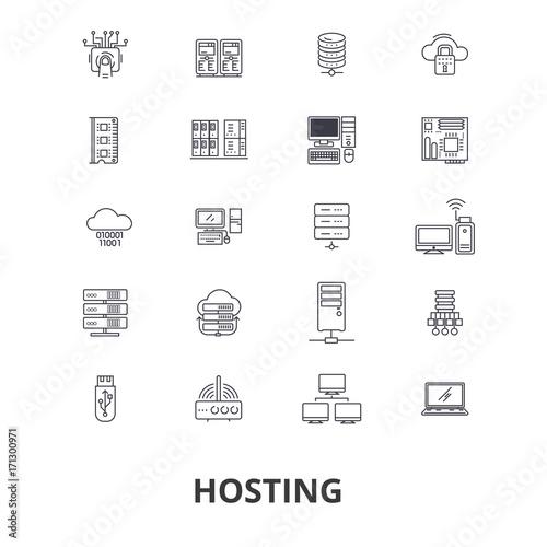 Hosting Hostess Web Server Cloud Hosting Domain Computing