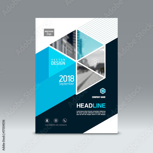 cover design corporate brochure template magazine and flyer layout