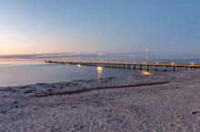 Rosebud Pier On The Mornington Peninsula South Of Melbourne.