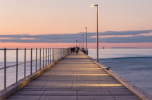 Rosebud Pier On The Mornington...