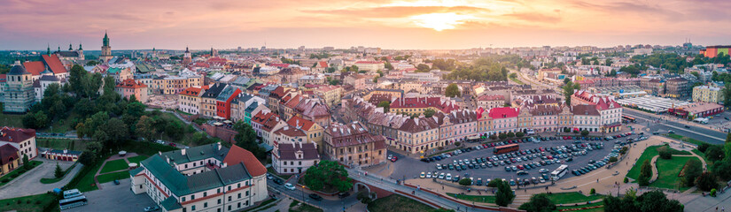 Panorama Starego Miasta w Lublinie