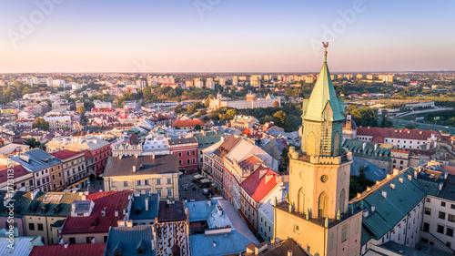 Obraz Punkt widokowy w Lublinie - fototapety do salonu
