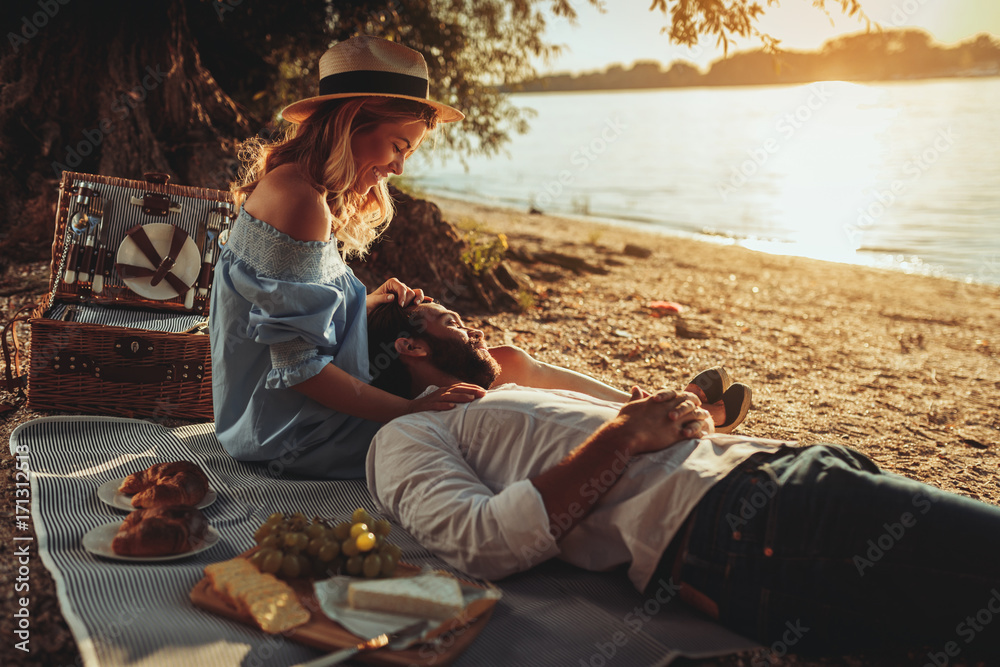 Fototapety, obrazy: Perfect date for two