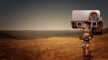 Mars Rover Explores The Red Pl...