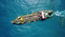 Suction Dredger Ship Working N...