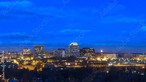 Downtown Colorado Springs at Night