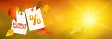 Herbstangebot - Hängende Etik...