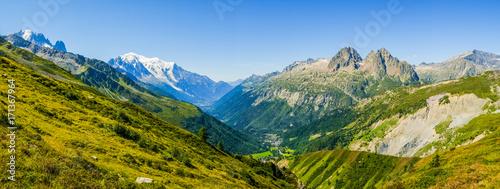 Foto auf Gartenposter Gebirge Mont Blanc