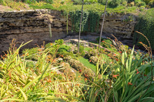 The Sunken Garden Was Built Ov...