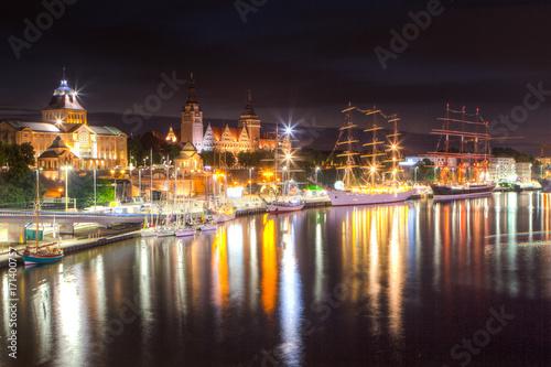 Photo  Nocny Szczecin