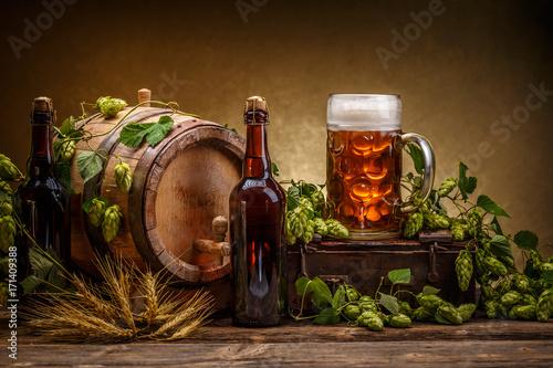 Fotografía Vintage beer barrel