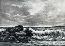 The Wave (Gustave Courbet, Ca. 1870)
