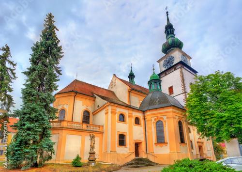 Canvas Prints Krakow St. Martin church in Trebic, Czech Republic