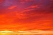 Leinwandbild Motiv 幻想的な夕焼けの背景イメージ
