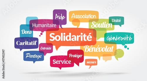 Fotografie, Obraz  solidarité