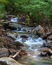A Small Stream Flows Through T...