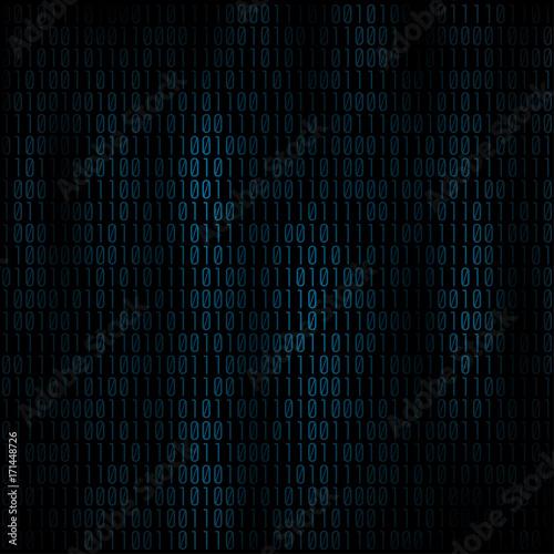 Obraz na plátně Coding abstract background