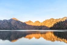 Lake Segara Anak On Morning. R...