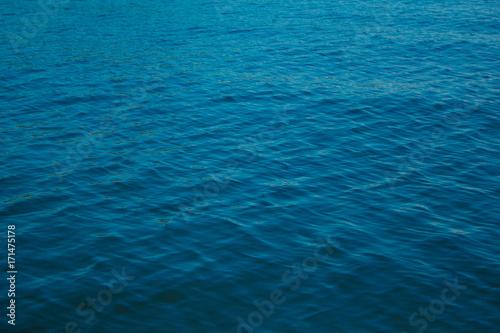 Wall Murals Ocean Photo of blue ocean texture