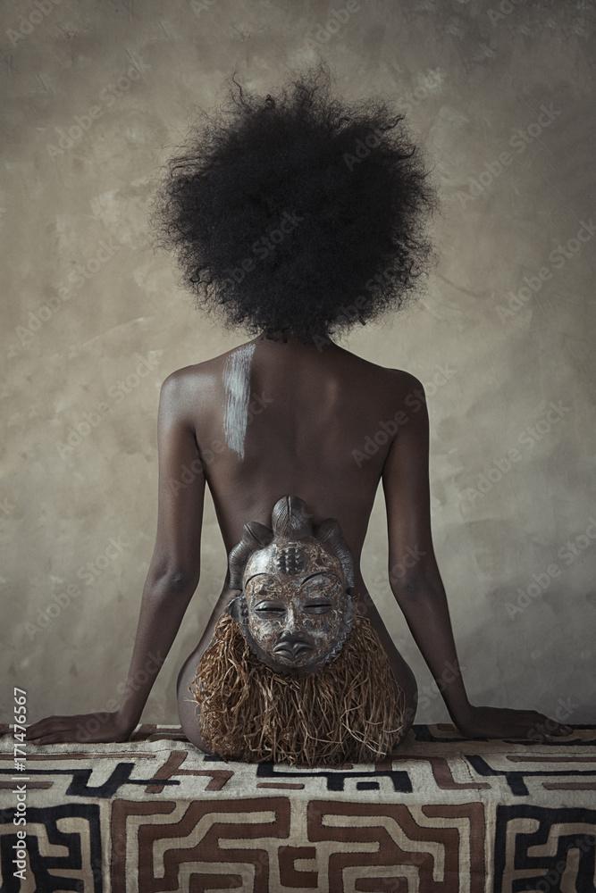 Fototapeta African Hauteness