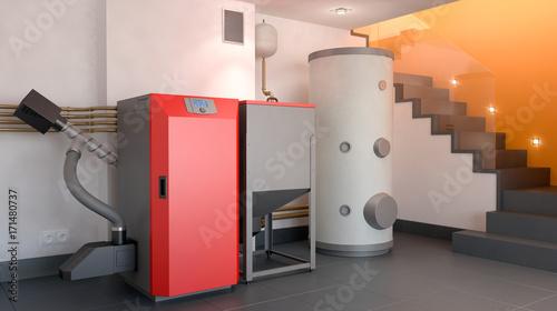 Fototapeta Heating system v3 obraz