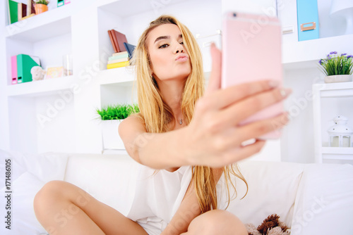 Fotografia  sending a kiss