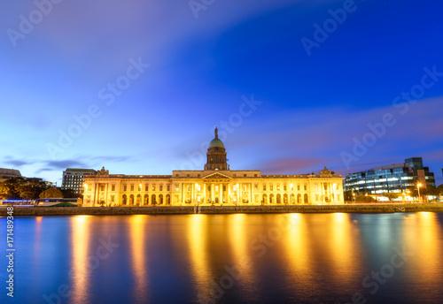 Obraz na dibondzie (fotoboard) Custom House Dublin Ireland