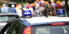 Police Patrol Cars Sirens  Fla...