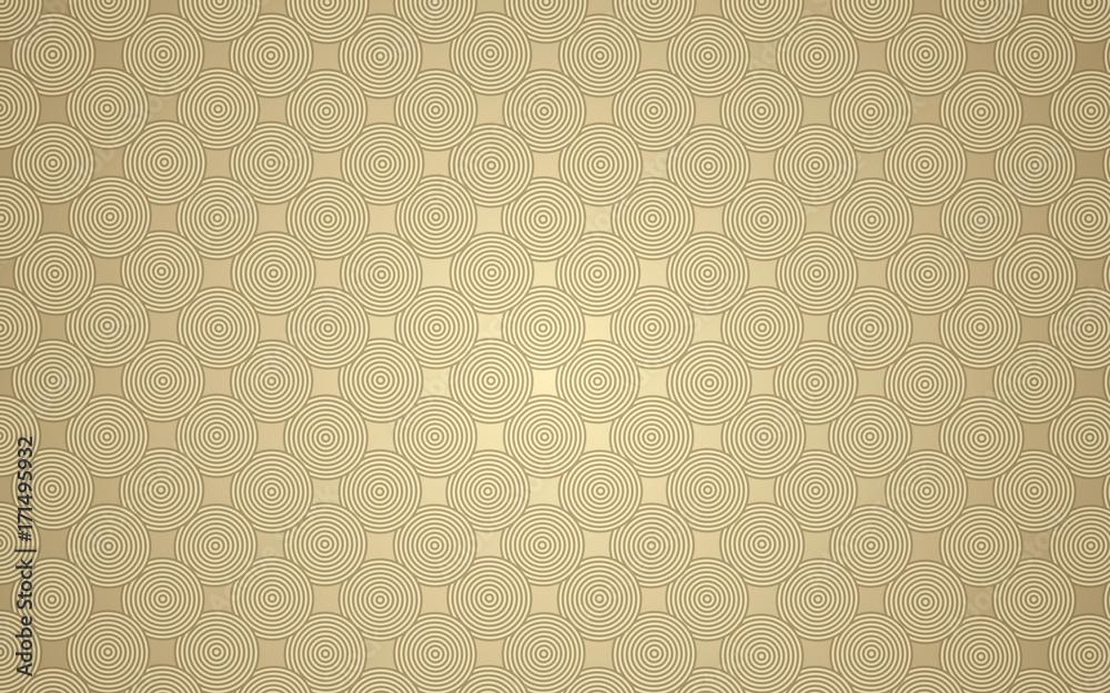 Fototapeta gold circles