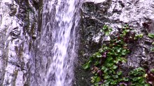 Placerita Waterfalls Ease-out Large Wall