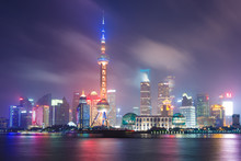 Night Of Lujiazui,Shanghai