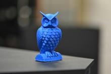 An Owl Made On A 3d Printer St...