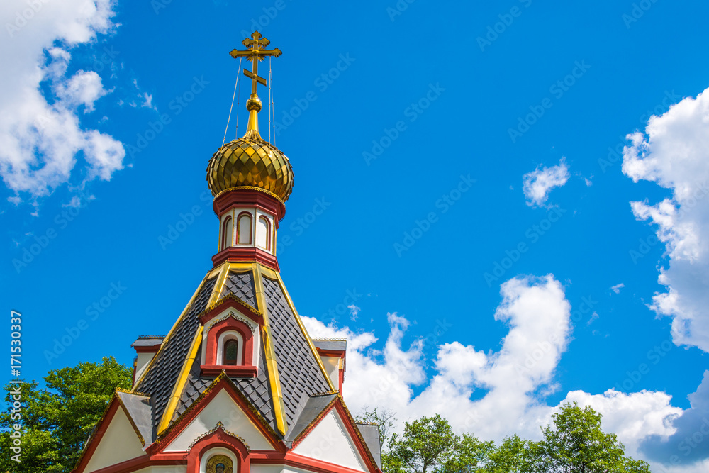 Fototapety, obrazy: Orthodox church dome