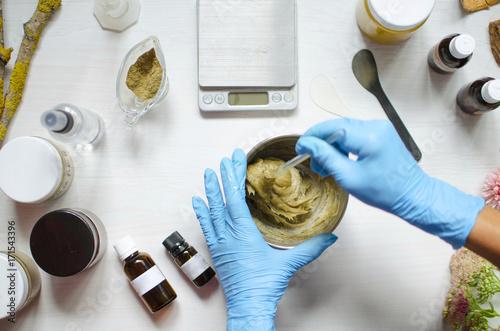 Fotografie, Obraz  Natural cosmetics preparation