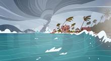 Tornado Incoming From Sea Hurr...