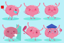 Cute Cartoon Bladder