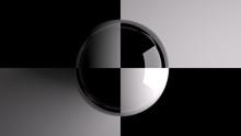 Sphère échiquier